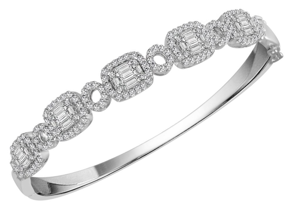 View  Gold<BR> DIAMOND Bangle